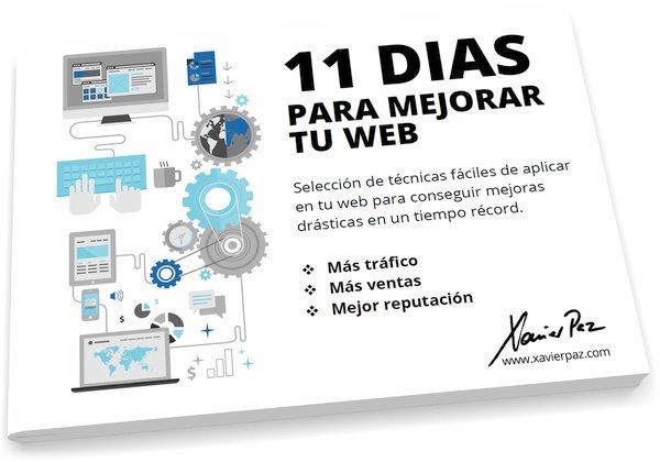11 dias para mejorar tu web