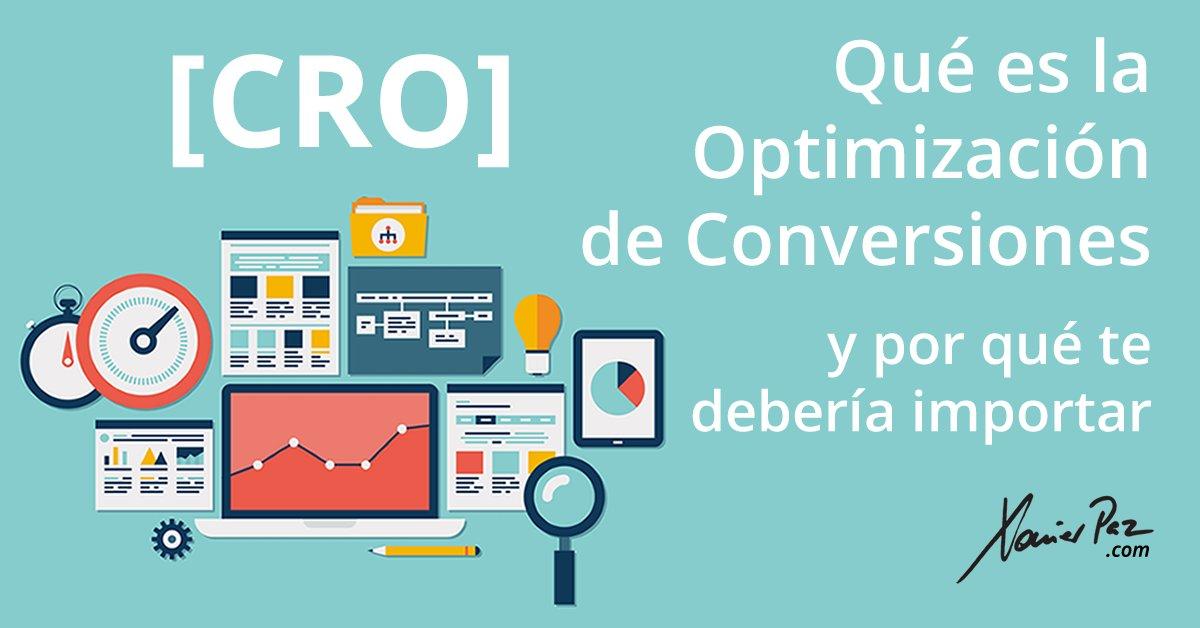 Qué es la optimización de conversiones